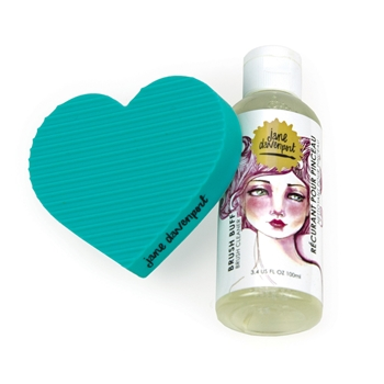 JDM-003 Spellbinders BRUSH BUFF CLEANER from Making Faces by Jane Davenport