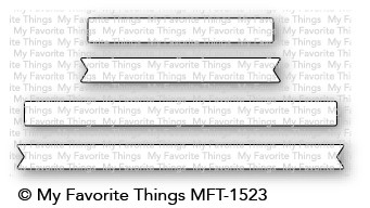 My Favorite Things SKINNY STRIPS Die-Namics MFT1523