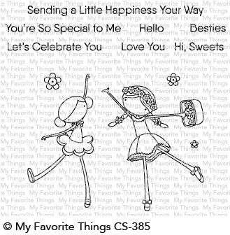 My Favorite Things SWEET BESTIES Clear Stamps CS385
