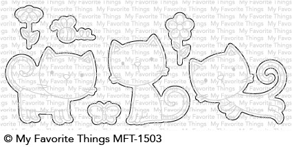 My Favorite Things PURR-FECT Die-Namics MFT1503 Preview Image
