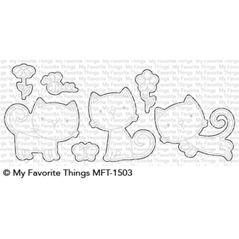 My Favorite Things PURR-FECT Die-Namics MFT1503