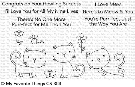 My Favorite Things PURR-FECT Clear Stamps CS388 zoom image