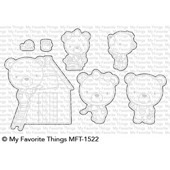 My Favorite Things BUILDER BEARS Die-Namics MFT1522