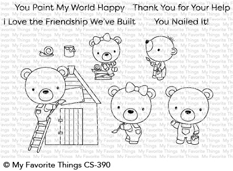 My Favorite Things BUILDER BEARS Clear Stamps CS390 Preview Image