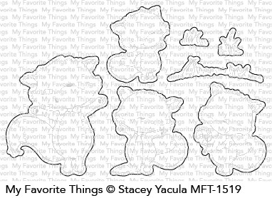 My Favorite Things FRIENDLY FOXES Die-Namics MFT1519 Preview Image
