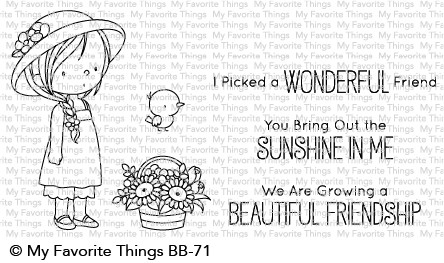 My Favorite Things BRING OUT THE SUNSHINE Clear Stamps BB71 Preview Image