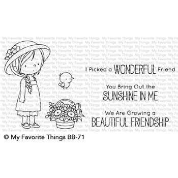 My Favorite Things BRING OUT THE SUNSHINE Clear Stamps BB71