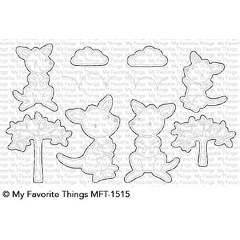 My Favorite Things KANGAROO CREW Die-Namics MFT1515