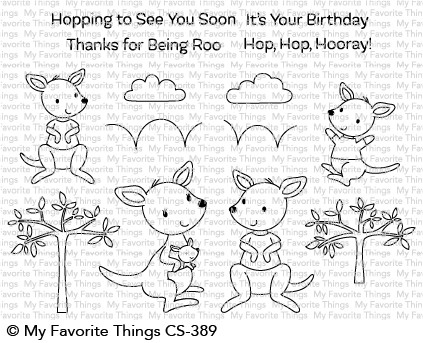 My Favorite Things KANGAROO CREW Clear Stamps CS389 Preview Image