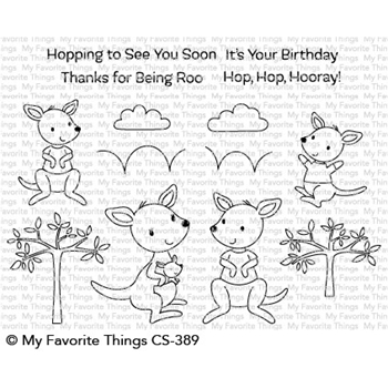 My Favorite Things KANGAROO CREW Clear Stamps CS389