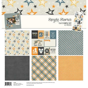 Simple Stories DAD LIFE 12 x 12 Collection Kit 10709