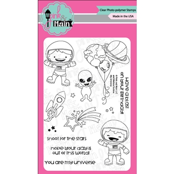Pink and Main MY UNIVERSE Clear Stamps PM0335