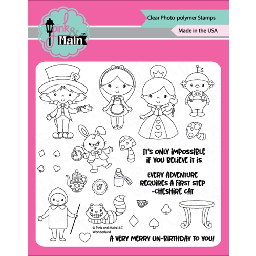 Pink and Main WONDERLAND Clear Stamps PM0337 Preview Image