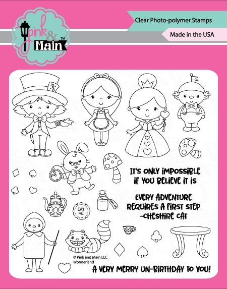 Pink and Main WONDERLAND Clear Stamps PM0337 zoom image