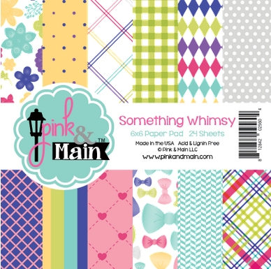 Pink and Main 6x6 SOMETHING WHIMSY Paper Pad 025604 zoom image
