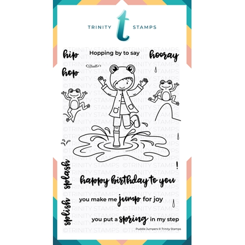 Trinity Stamps PUDDLE JUMPERS Clear Stamp Set 358126 Preview Image