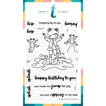 Trinity Stamps PUDDLE JUMPERS Clear Stamp Set 358126