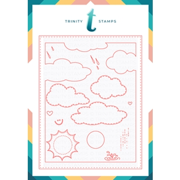 Trinity Stamps CLOUDY DAY A2 SCENE BUILDER Die Set 961976