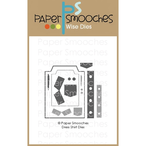 Paper Smooches DRESS SHIRT Wise Dies M2D438 Preview Image