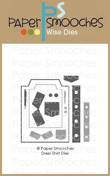 Paper Smooches DRESS SHIRT Wise Dies M2D438 zoom image