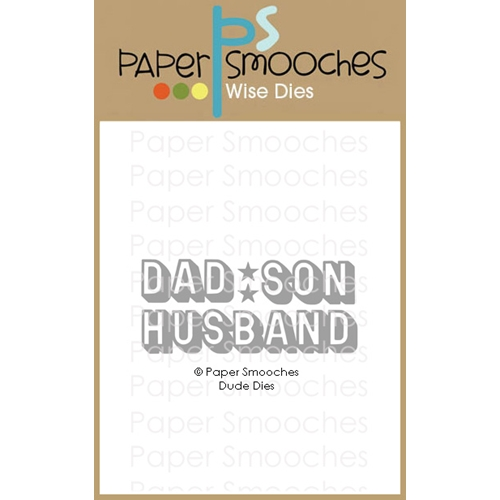 Paper Smooches DUDE Wise Dies M2D439* Preview Image