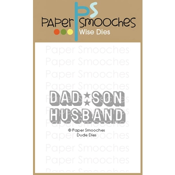Paper Smooches DUDE Wise Dies M2D439*