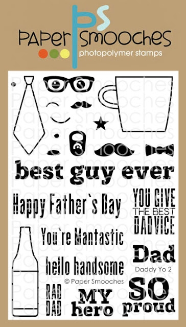 Paper Smooches DADDY YO 2 Clear Stamps M2S305 zoom image