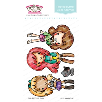 The Greeting Farm MISS ANYA CROP Clear Stamps TGF489