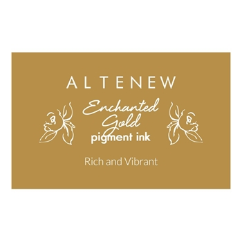 Altenew ENCHANTED GOLD Pigment Ink Pad ALT2654