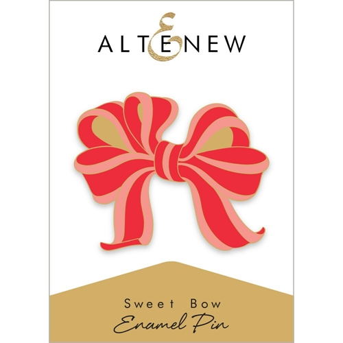 Altenew SWEET BOW Enamel Pin ALT2573 Preview Image
