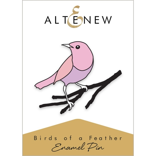 Altenew BIRDS OF A FEATHER Enamel Pin ALT2564 Preview Image