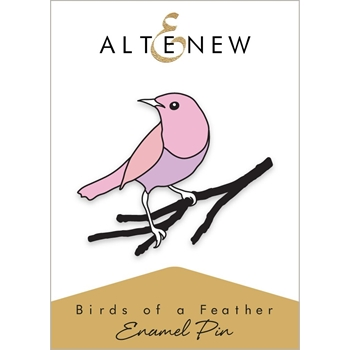 Altenew BIRDS OF A FEATHER Enamel Pin ALT2564