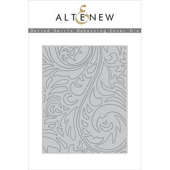 Altenew DOTTED SWIRLS DEBOSSING COVER Die ALT3270