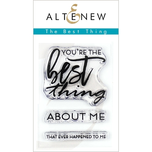 Altenew BEST THING Clear Stamps ALT3269 Preview Image