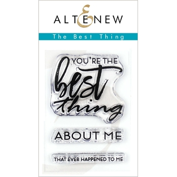 Altenew BEST THING Clear Stamps ALT3269