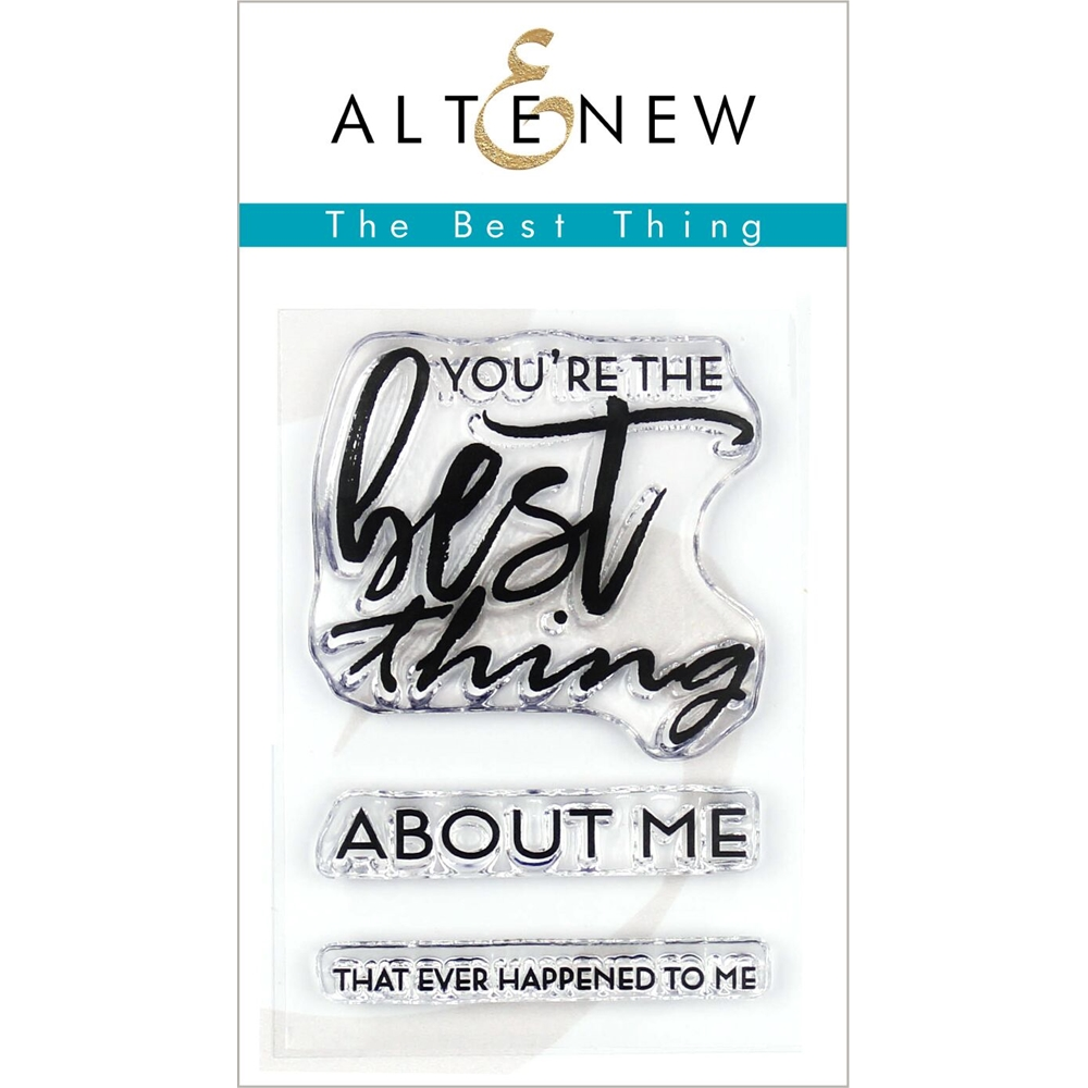Altenew BEST THING Clear Stamps ALT3269 zoom image
