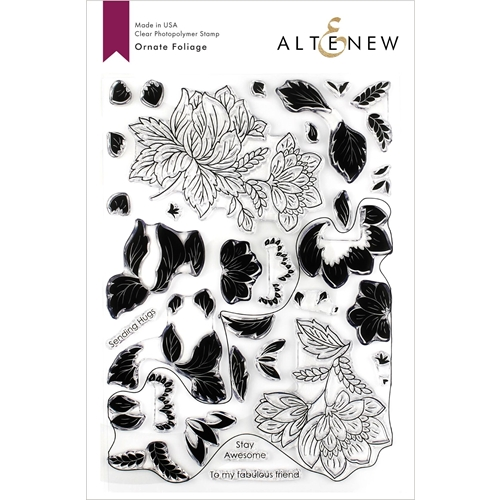 Altenew ORNATE FOLIAGE Clear Stamps ALT3266 Preview Image