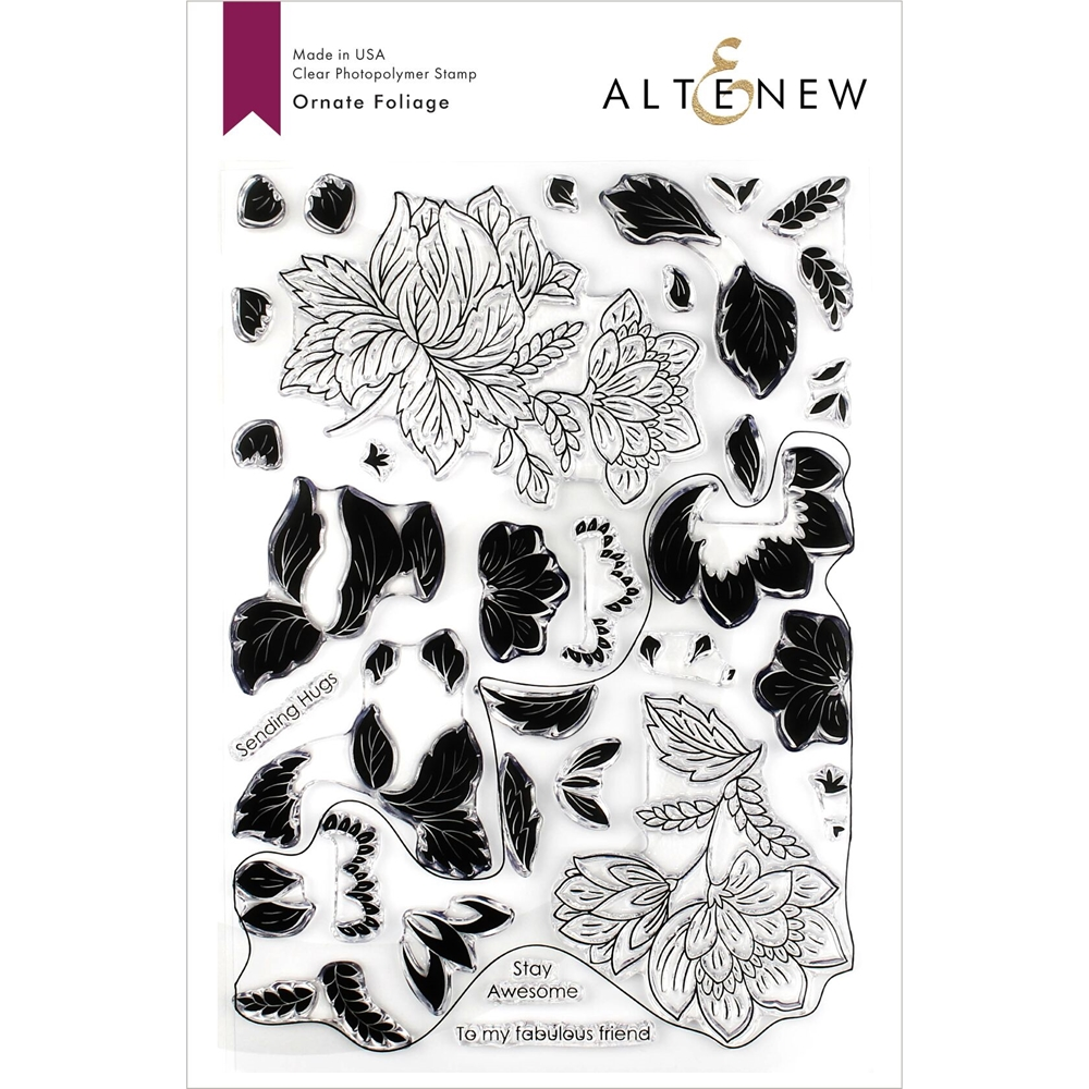 Altenew ORNATE FOLIAGE Clear Stamps ALT3266 zoom image