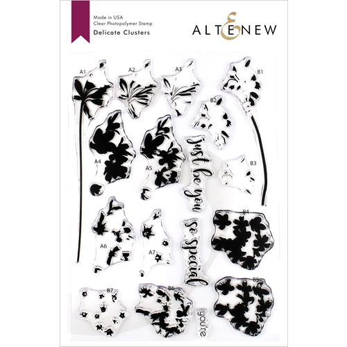 Altenew DELICATE CLUSTERS Clear Stamps ALT3260 Preview Image