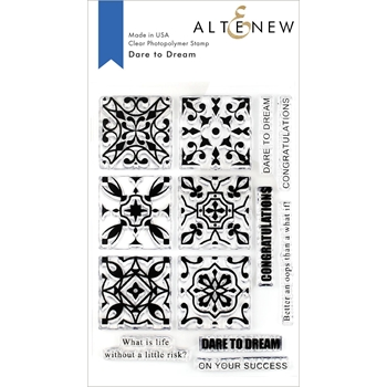 Altenew DARE TO DREAM Clear Stamps ALT3259