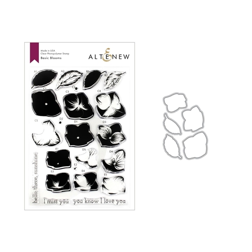 Altenew BASIC BLOOMS Clear Stamp and Die Bundle ALT3257 Preview Image
