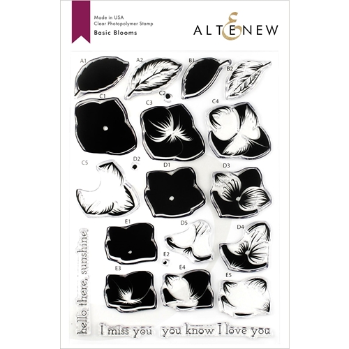 Altenew BASIC BLOOMS Clear Stamps ALT3254 Preview Image