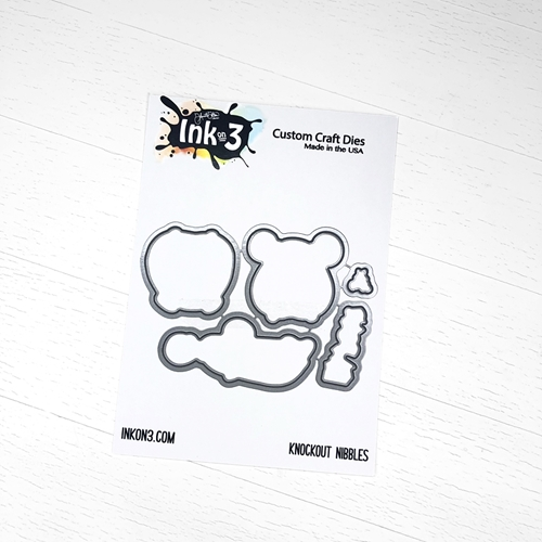 Inkon3 KNOCKOUT NIBBLES Craft Dies 04040 Preview Image