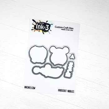 Inkon3 KNOCKOUT NIBBLES Craft Dies 04040