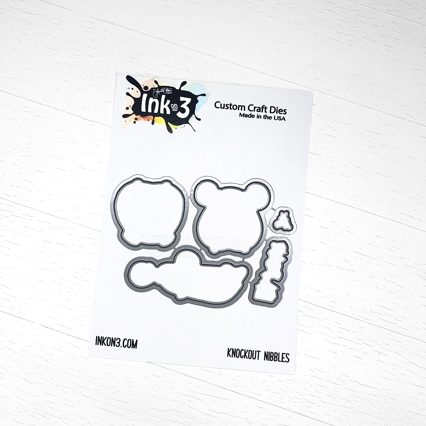 Inkon3 KNOCKOUT NIBBLES Craft Dies 04040 zoom image