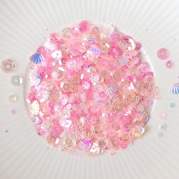 Little Things From Lucy's Cards CONCH Sparkly Shaker Mix LB250