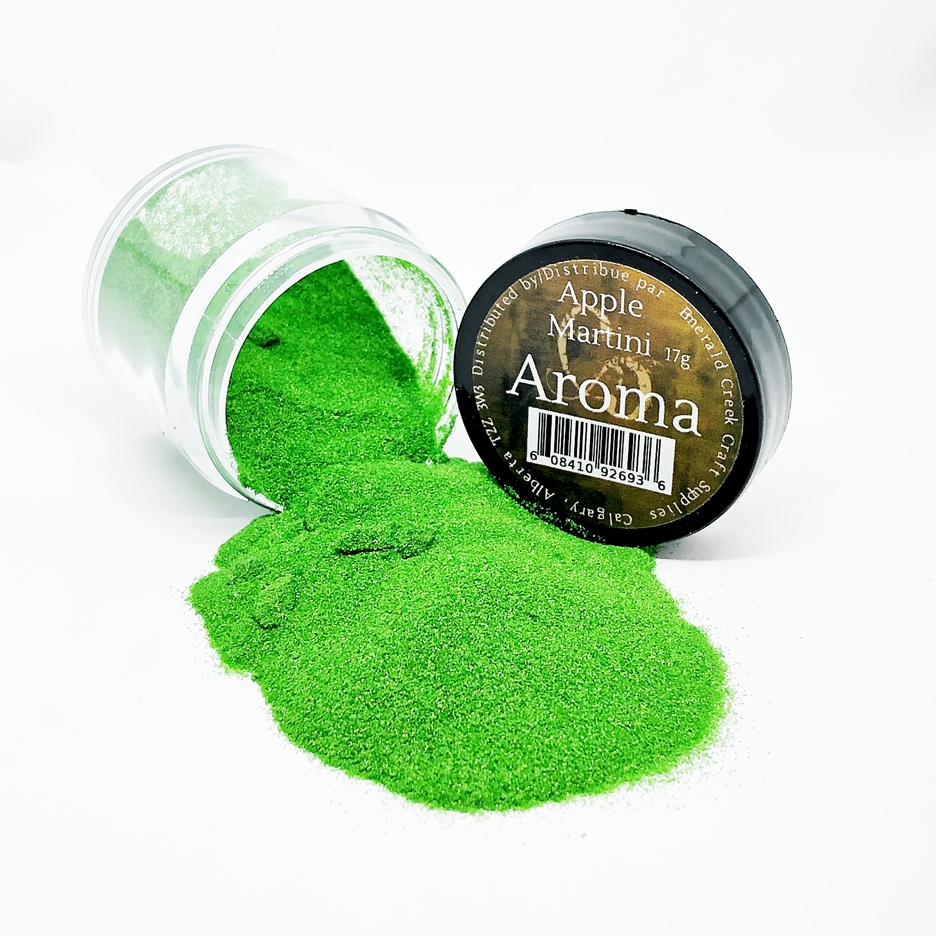 Emerald Creek APPLE MARTINI Aroma Embossing Powder aapam0001 zoom image