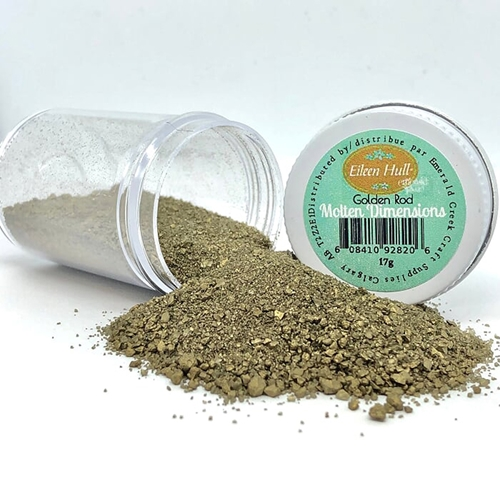 Emerald Creek GOLDEN ROD Molten Dimensions Embossing Powder mdgd Preview Image