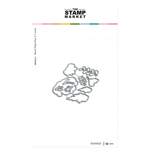 The Stamp Market POPPIES Die Set tsm2094 Preview Image