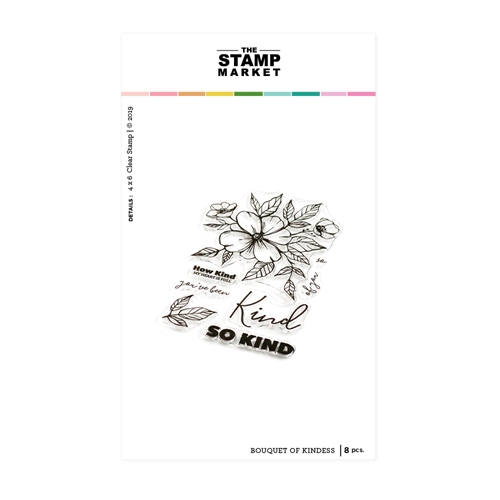 The Stamp Market BOUQUET OF KINDNESS Clear Stamp Set tsm114 Preview Image